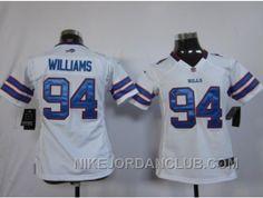 http://www.nikejordanclub.com/nike-women-nfl-jerseys-buffalo-bills-94-williams-white-f4khk.html NIKE WOMEN NFL JERSEYS BUFFALO BILLS #94 WILLIAMS WHITE F4KHK Only $23.00 , Free Shipping!