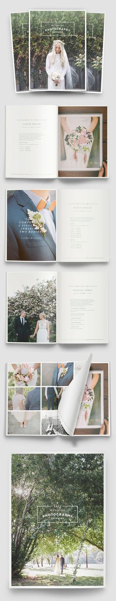 Multipurpose Photography Brochure Template #annualreport #booklet #brochuredesign #brochuretemplates #fashioncatalog #catalogdesign