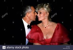 Download this stock image: Gabor, Zsa Zsa, * 6.2.1917, US actress of Hungarian origin, half length, with her husband Frederic Prinz von Anhalt, event at th - CPY8KG from Alamy's library of millions of high resolution stock photos, illustrations and vectors.
