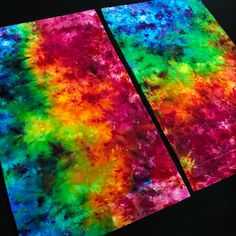 Custom Made to Order Rainbow Splatter Ice Dyed Tie Dye Pillowcase Set – Detroit Tie Dye Co. Tie Dye Painting, Silk Painting, Tie Dye Bedding, Bedding Shop, Rainbow Room, Rainbow Colors, Hippy Bedroom, Tie Dye Tapestry, Tie Dye Crafts