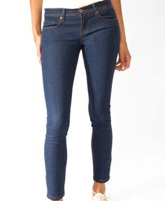 Classic Five Pocket Skinnies | FOREVER21 - 2000039977