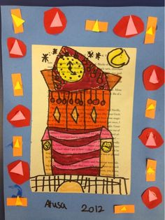 Mrs. Knight's Smartest Artists: Klee's Castles, 2nd grade
