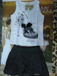 Conjunto Blusa com saia Miss Cake