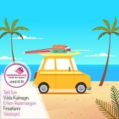 🏝️ Tatil İçin Yolda Kalmayın! Erken Rezervasyon Fırsatlarıyla Tatile gönül rahatlığıyla çıkın! 👉 Peşin Fiyatına 9 Taksit imkanıyla erken rezervasyon fırsatlarını yakalayın! ➡️Hemen rezervasyon yapmak için; https://goo.gl/SLdfWt ☎️ 444 10 31'den bize ulaşabilirsiniz. 💞 Unutmayın Mutluluğunuz için; ✔️Tatile Hep Açığız! #TatileHepAçığız #tatil #erkenrezervasyon