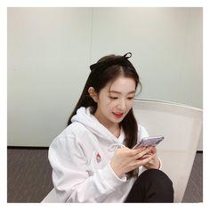 Photo album containing 5 pictures of Irene Seulgi, South Korean Girls, Korean Girl Groups, Red Velvet Irene, Daegu, Windbreaker, Coral, Instagram, Twitter