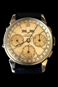 Breitling, Vintage Watches, Chronograph, Rolex Watches, Beautiful Things, Calendar, Accessories, Bangle Bracelets, Men