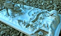 Star Wars – Battle of Hoth Diorama