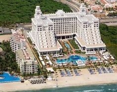 Rui Palace Pacifico in Riviera Nayarit, Mexico. Its located overlooking Pacific ocean on Flamingos Beach. Just twenty mins away from the Puerto Vallarta International Airport.