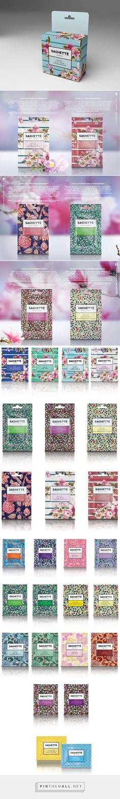 SACHETTE, skin care and bath & shower products, designed by Maria Aksyuta. Pin curated by #SFields99 #packaging #design