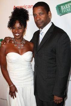 Denzel Washington at Harold Pump Foundation Gala