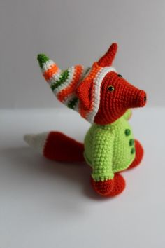 Fox Amigurumi ~ Free Russian Pattern