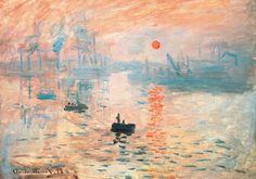 PUZZLE DE MADERA Impresión, Sol Naciente (Monet). 250 piezas