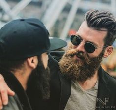 Awesome, full beards
