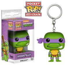 Pocket Pop! Keychain: TMNT - Donatello   Funko