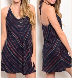 """This cute """"Tribal"""" halter dress is stylish and comfortable. And had side pockets. Priced at 16.99       Shop this product here: http://spreesy.com/ButtonsBelles/18   Shop all of our products at http://spreesy.com/ButtonsBelles      Pinterest selling powered by Spreesy.com"""