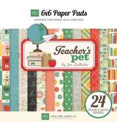 Echo Park Paper Pack Teachers Pet 6x6