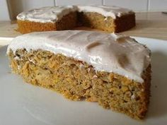 Low Fat Carrot Cake Slimming World Carrot Cake, Low Fat Carrot Cake, Low Fat Cake, Best Carrot Cake, Low Fat Desserts, Clean Eating Desserts, Healthy Desserts, Quark Recipes, Easy Cake Recipes
