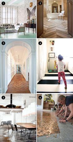 Unique Flooring You'll Go Ga-Ga Over - The Interior Collective
