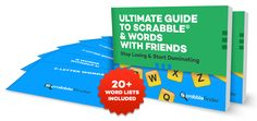 Ultimate Scrabble & Words With Friends Holiday Giveaway