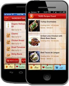 47 best mobile apps for food allergies images on pinterest mobile find recipes matching ingredients you already have at home you can make specific food allergy selections in the app for gluten free dairy free soy free forumfinder Gallery