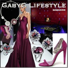 """GabyG on Wed, Feb 20th, Evening"" by gabyg on Polyvore"