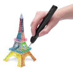 The 3D Printing Pen - Hammacher Schlemmer