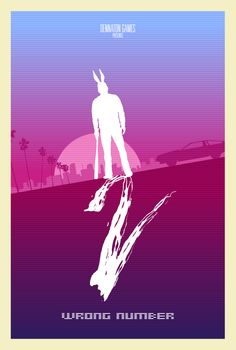Hotline Miami 2 Wrong Number Minimal Poster by mdk7 on DeviantArt