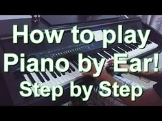 Spectacular Play Piano By Ear Lessons Online. Heavenly Play Piano By Ear Lessons Online. Piano Lessons For Kids, Piano Lessons For Beginners, Music Lessons, Guitar Lessons, Music Sing, Piano Music, Music Wall, Sheet Music, Teach Yourself Piano