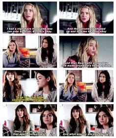 Okay. Hanna, we're all here. What's the emergency? #PrettyLittleLiars