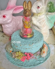 Old Easter candy container