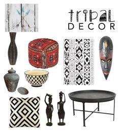 """9 tribal @nc4you"" by nc4you on Polyvore featuring interior, interiors, interior design, Zuhause, home decor, interior decorating, Frontgate, NOVICA und tribaldecor"