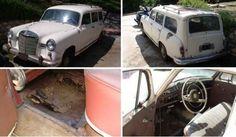 1959 Mercedes Benz 190D Wagon