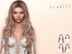 Sims 4 Cc Eyes, Sims Cc, Sims 4 Mods Clothes, Sims 4 Clothing, The Sims 4 Skin, Clueless Outfits, Sims 4 Collections, Hair Illustration, Sims 4 Cc Packs