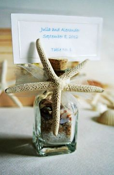 46 Beach Wedding Favors That You'll Love | HappyWedd.com