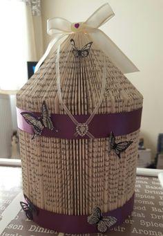 Book Sculpture, Book Art, Burlap, Reusable Tote Bags, Butterfly, Garden, Garten, Hessian Fabric, Lawn And Garden