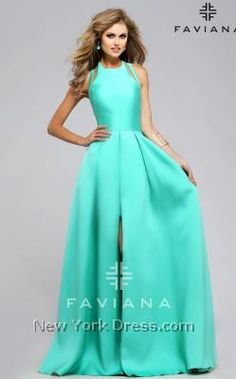 Prom 2016 Dresses at NewYorkDress from top celebrity designers! Choose from over 3,000 Prom styles. Low prices guaranteed. Our prom 2016 dresses from major designers to more moderate prices allows for one to have the full range of prom options. Whatever ones prom needs may be, New York Dress offers one of the largest selection of Prom Dresses. Hot, Trendy and Glamorous! Faviana 7752 - NewYorkDress.com