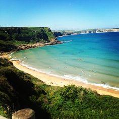 La playa de los locos #suances #cantabria #comomolanokurrar #seestadeputamadredevacaciones #locosbeach