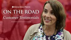 We love to hear from you! While at the Great Homeschool Convention in Cincinnati, Ohio, we got to talk to some of our customers and hear about their experiences using the Memoria Press classical curriculum. We hope to see you at GHC next year!