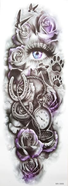 35 ideas tattoo sleeve designs kids for 2019 diy tattoo - diy tattoo images - diy tattoo ideas - diy Full Leg Tattoos, Full Sleeve Tattoos, Arm Tattoos For Women, Tattoo Sleeve Designs, Tattoos For Guys, Leg Sleeve Tattoo, Shoulder Tattoo, Tattoo Neck, Wrist Tattoo