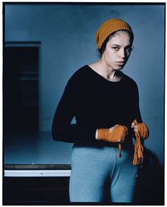 Inzaejano Latif - Female Boxer from the series 'Female Boxers'