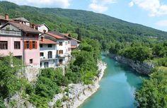 Reka Soča - Kanal - Slovenija - GeaGo