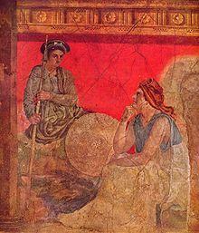 Fresc de la Sala H de la Vila de Boscoreale. Nàpols, Museu Arqueològic Nacional 906.
