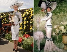 Nicole Kidman channels 'My Fair Lady' to attend the Melbourne Cup