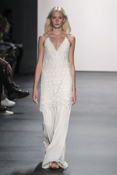 Bridal looks from NYFW.