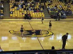 Kent State Touch of Gold Twirlers Jan 30, 2010 Basketball Halftime