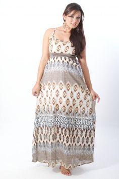 Vestido materno largo.    www.clioropamaterna.com