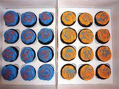 Florida Gators cupcakes !