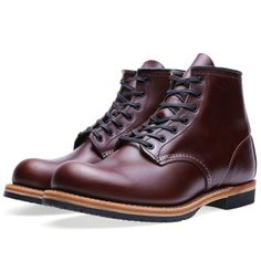 """Red Wing 9016 Beckman 6"""" Round Toe Boot (Cigar Featherstone)"""