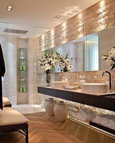 59 Interior Bathroom To Update Your Living Room bathroom banheiro hus lavabo Bad Inspiration, Bathroom Inspiration, Bathroom Ideas, Bathroom Vanities, Small Bathroom, Basement Bathroom, Washroom, Bathroom Storage, Sinks