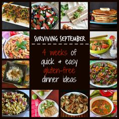 Gluten-Free Dinner Ideas Easy   ... of Quick and Easy Gluten Free Dinner Ideas from My Gluten-Free Kitchen